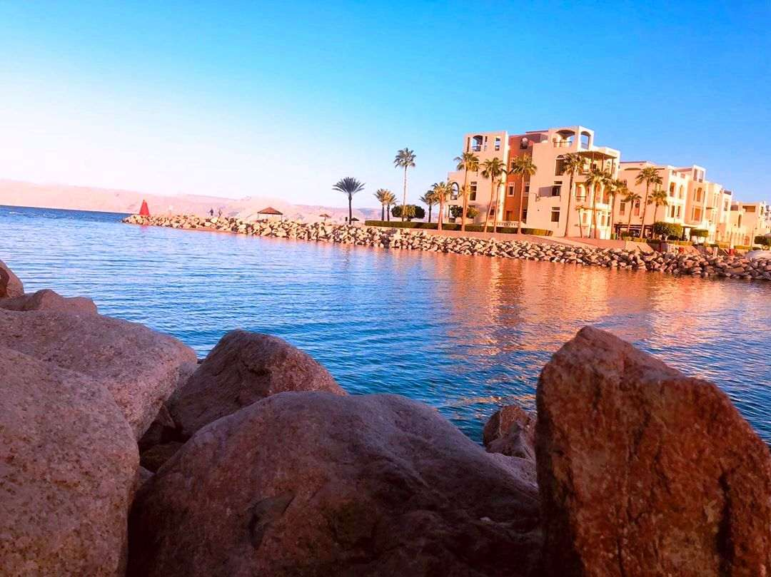Jordan - Aqaba - Tala Bay - port exist