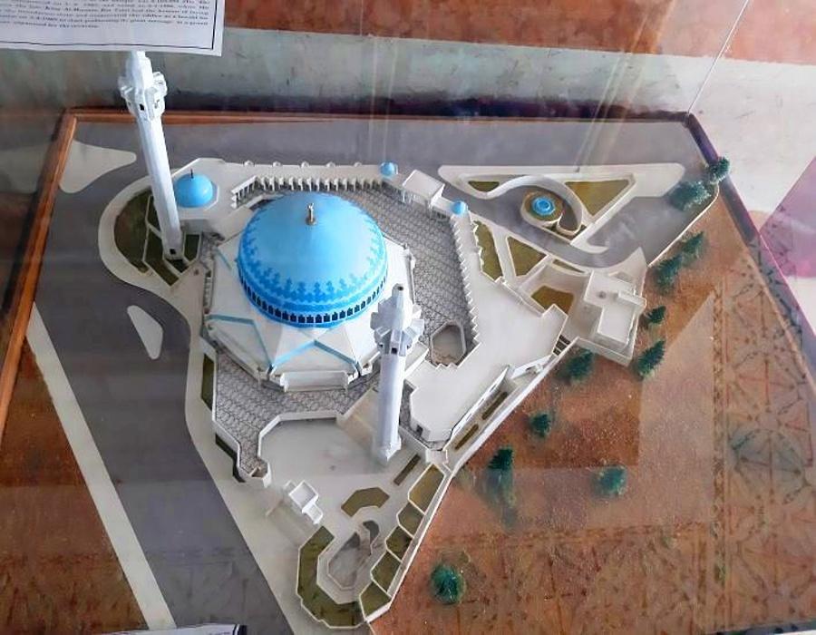 Abdullah I Mosque - Model