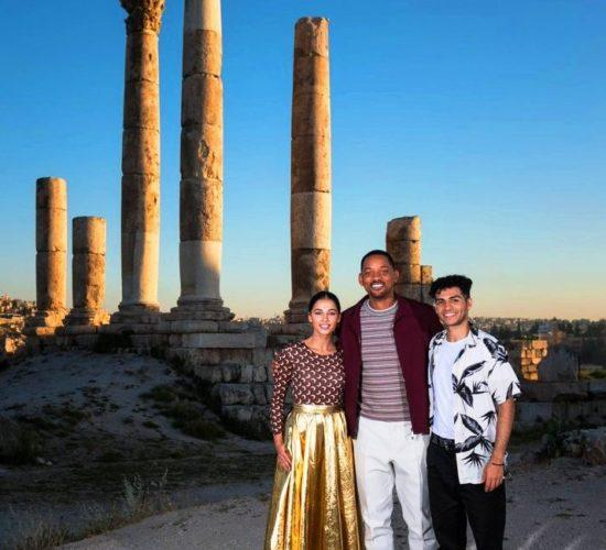 """Will Smith attends a photocall at the Citadel - Amman, as part of the """"Aladdin"""""""