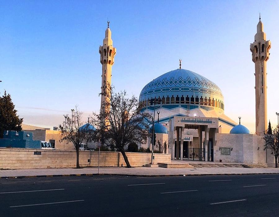 Entrance to King AbduAllah mosque