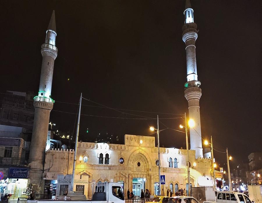 Grand Al Husseini Mosque - Al Husseini Mosque -Amman downtown