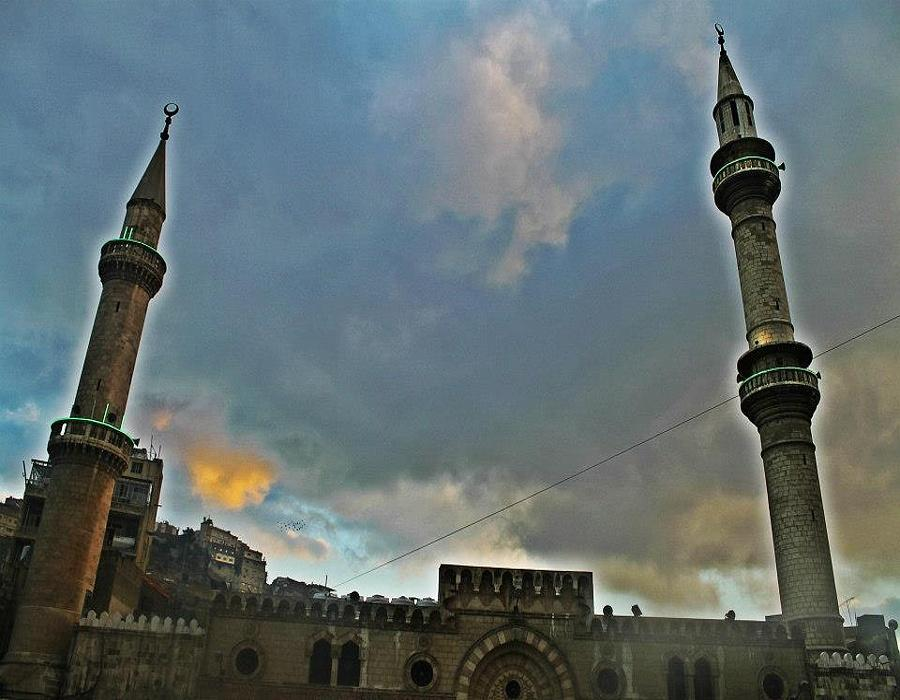 Grand Husseini Mosque - Amman downtown