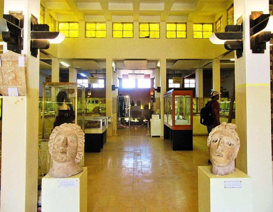 Interior of the JORDAN ARCHAEOLOGICAL MUSEUM