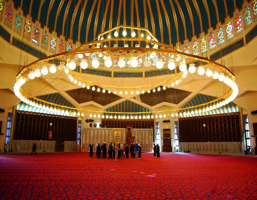 King Abdullah the first Mosque