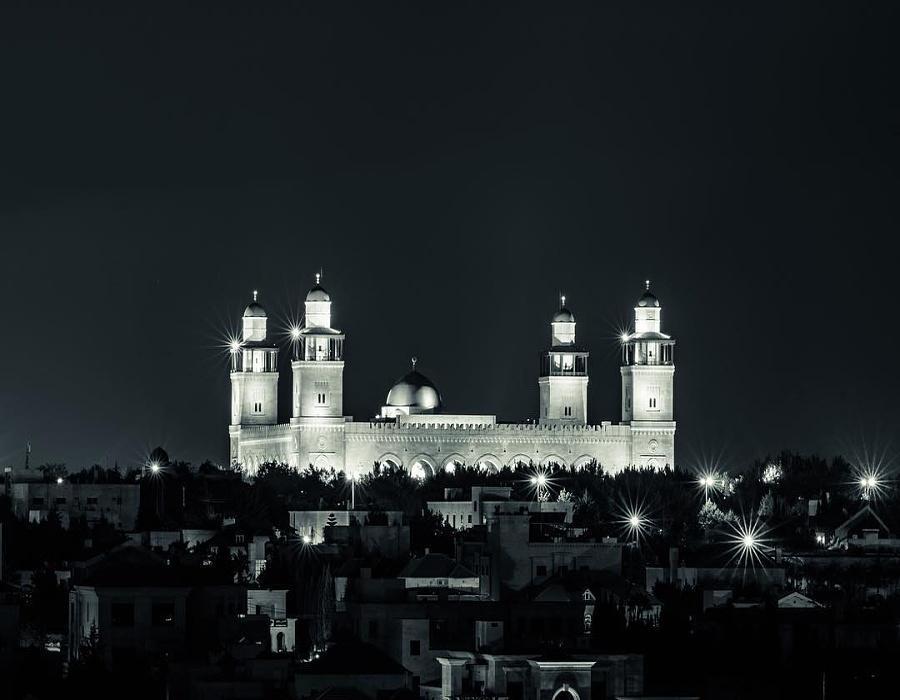 King Hussein Mosque - Amman