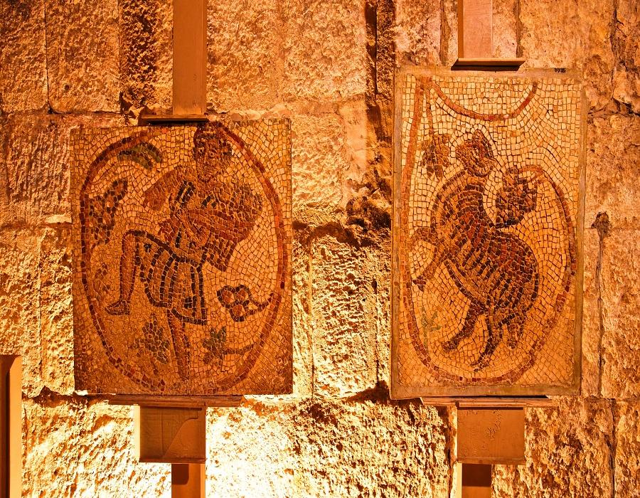 Jordanian Museum of Popular Traditions-Mosaic collections