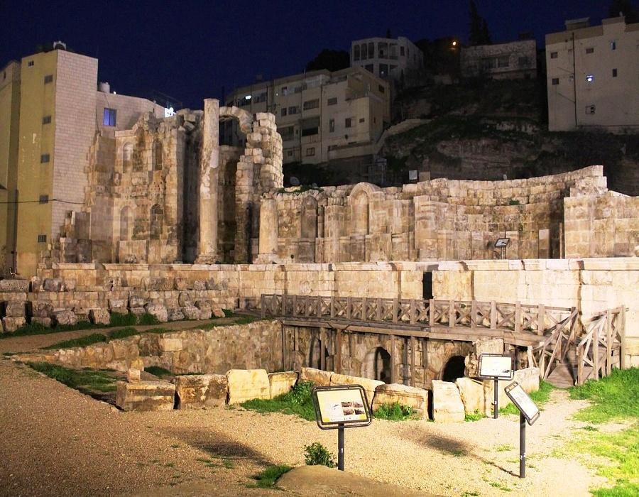 Amman Foundation vaults and upper floor