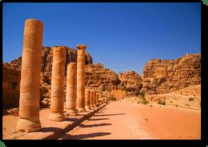 The Baptist Street - Petra - Jordan