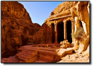 The Pond and Gardens Complex - Petra - Jordan