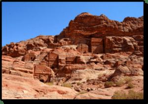 The Farasa Valley in Petra - Jordan