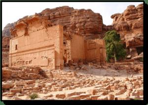 The Girl`s Palace - Petra - Jordan