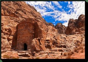 The Sextius Florentinus Tomb - Petra - Jordan