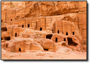 The Street of Facades in Petra