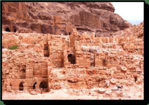 Winged Lions Temple - Petra -Jordan