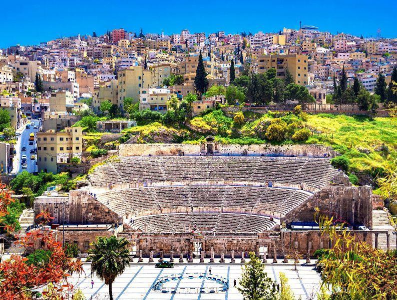 Roman Amphitheater- Amman