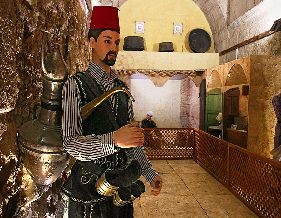 Jordan Folklore Museum-Seller of refreshing herbal syrup
