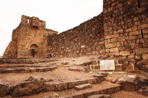 Al Azraq fort - The entrance