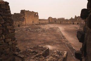 Qasr Al Azraq - courtyard