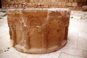 Detail crafting on column