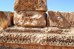 QASR AL-MSHATTA Detail - carved decorations