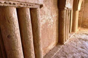 Qas al-Kharanah - inside walls