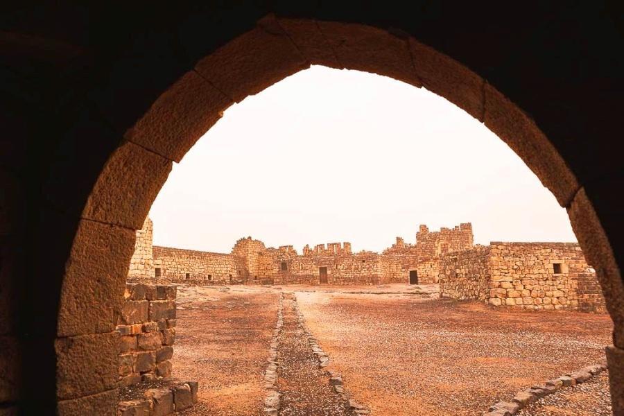 Qasr Al Azraq - view to courtyard