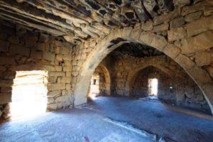 Qasr Al Azraq - Room of T. E. Lawrence in the main tower