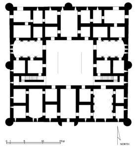 Qasr Al-Kharanah - scheme