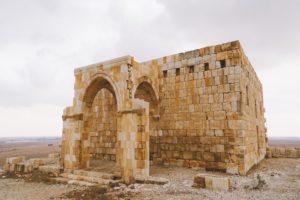 Qasr al-Hallabat - View