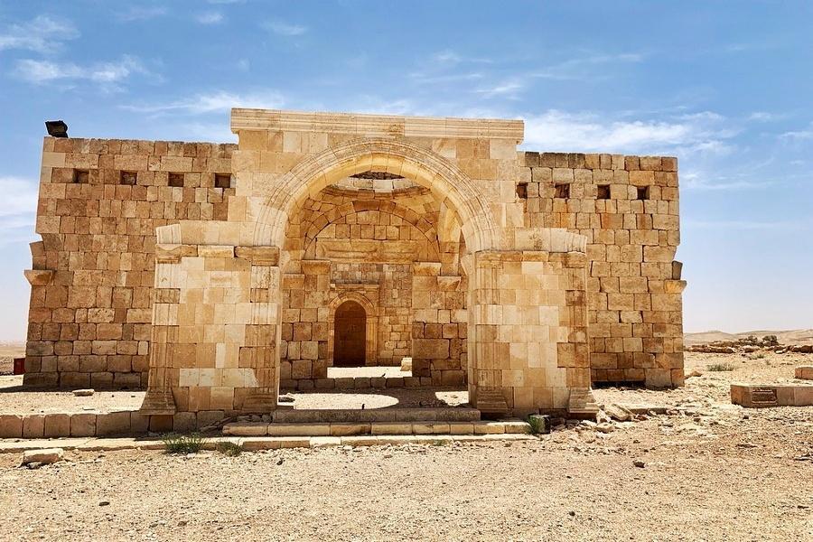 Qasr al-Hallabat - the Mosque