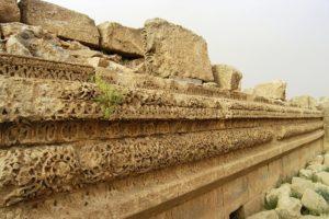 Qasr al-Mshatta -Remains of the facade