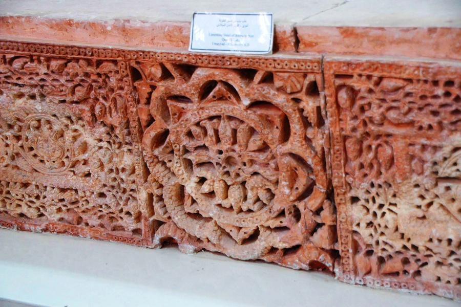 Qasr al-Tuba Door Lintel Umayyad Limestone