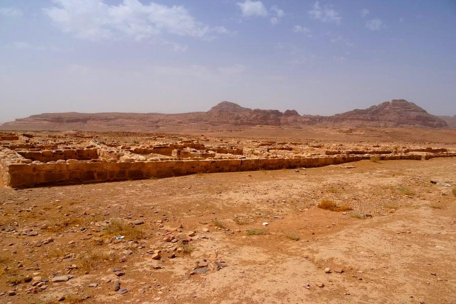 Al-Humayma Landscape-ruins