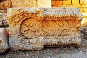 Qasr al-Qastal - Architectural detail