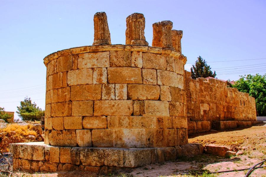 Qasr al-Qastal (Qastal Palace)- Minaret north Face