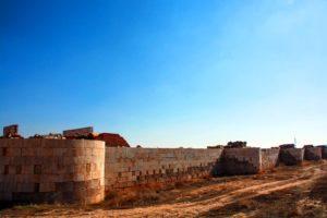 al Qastal - south Walls